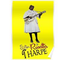 SISTER ROSETTA THARPE ROCK N ROLL Poster