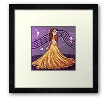 Ballgown Framed Print