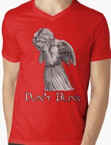 Don't Blink! Mens V-Neck T-Shirt