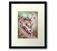 Sleeping Dragon - Peace and Tranquility Framed Print