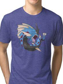 Mega Gyarados Tri-blend T-Shirt