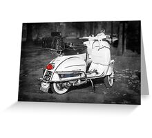 The Classic 64 Scooter Greeting Card