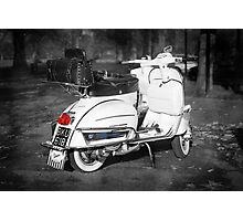 The Classic 64 Scooter Photographic Print
