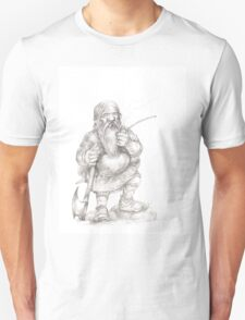 Smoking Dwarf Unisex T-Shirt