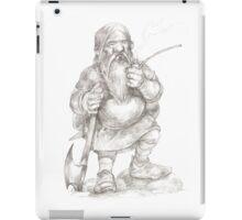 Smoking Dwarf iPad Case/Skin
