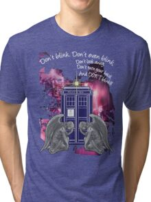 Weeping For The Tardis Tri-blend T-Shirt