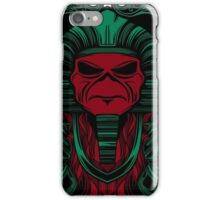 PHARAO GREEN AND RED iPhone Case/Skin
