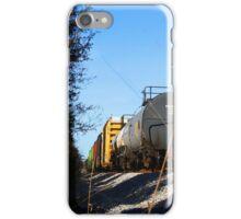 Train caboose iPhone Case/Skin