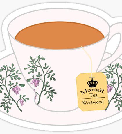 MoriaR Tea Sticker