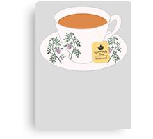 MoriaR Tea Canvas Print
