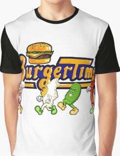 BurgerTime Title Graphic Graphic T-Shirt