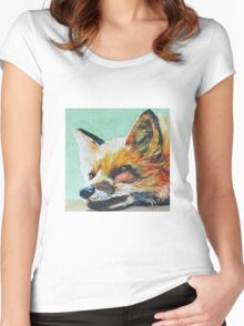 Watchful Fox Women's Fitted Scoop T-Shirt