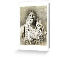 Indian Squaw Greeting Card