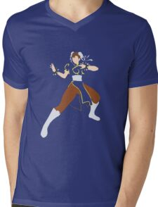 Chun Li Mens V-Neck T-Shirt