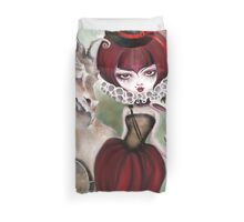Dragon Lady - Graveyard Grenda & Dragon Duvet Cover