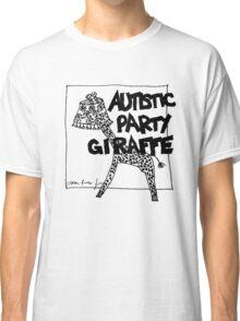 Autistic Party Giraffe Classic T-Shirt