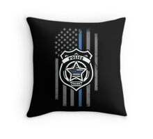Support the Police Throw Pillow