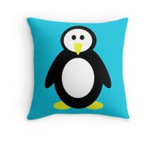 Cute Penguin Throw Pillow