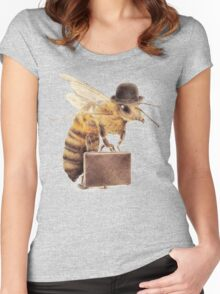 Worker Bee Women's Fitted Scoop T-Shirt