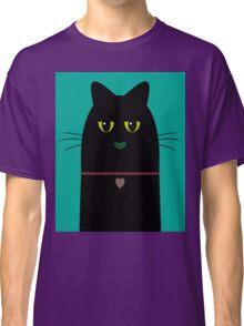 BLACK CAT PORTRAIT #3 Classic T-Shirt