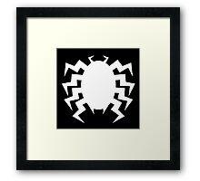 Neo Retro Venom Symbol - Version A Framed Print