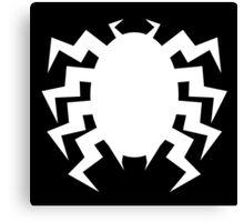 Neo Retro Venom Symbol - Version A Canvas Print