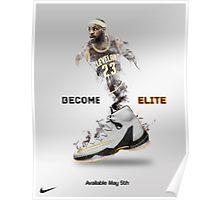 Elite Lebron Poster