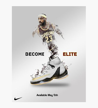 Elite Lebron Photographic Print