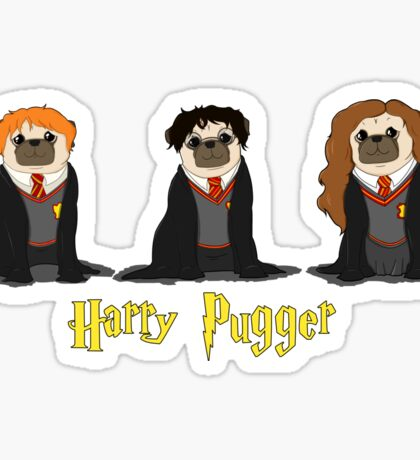 Harry Pugger Sticker