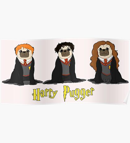 Harry Pugger Poster