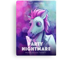 Party Nightmare Canvas Print