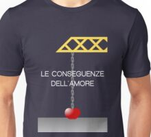 The Consequences of Love alternative movie poster Unisex T-Shirt