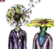 Flower People Sticker