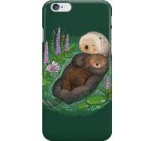 Sea Otter Mother & Baby iPhone Case/Skin