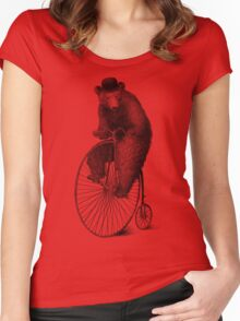 Morning Ride Women's Fitted Scoop T-Shirt