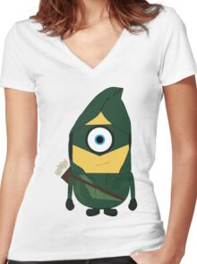 Mini-arrow Women's Fitted V-Neck T-Shirt
