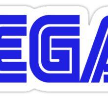SEGA STYLE VEGAN LOGO Sticker