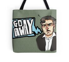 Go Away - CHARLIE BROOKER Tote Bag
