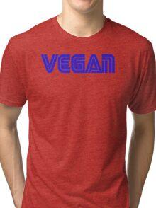 SEGA STYLE VEGAN LOGO Tri-blend T-Shirt