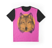 Wild Wolf Graphic T-Shirt