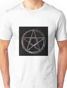 Pewter Pentagram Unisex T-Shirt