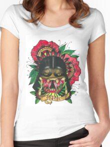 Darth Vader/Predator Women's Fitted Scoop T-Shirt