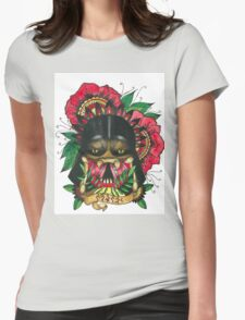 Darth Vader/Predator Womens Fitted T-Shirt