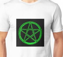 Green Pentagram Unisex T-Shirt