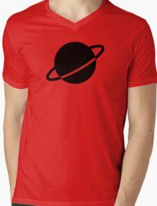 Legion of Super-Heroes; Saturn Girl Mens V-Neck T-Shirt