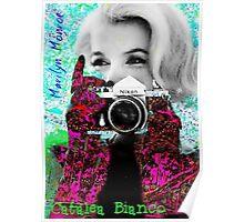 Marilyn And Nikon Poster