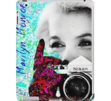 Marilyn And Nikon iPad Case/Skin