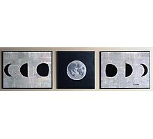 Lunar Phases Photographic Print