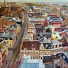 Utrecht From the Dom by Cameron Hampton