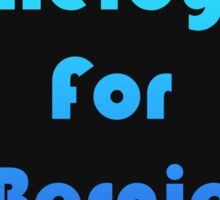 Nerdy For Bernie / Colored Sticker